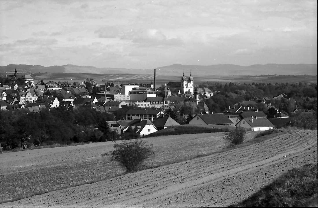Donaueschingen: Gesamtblick von Westen, Bild 1