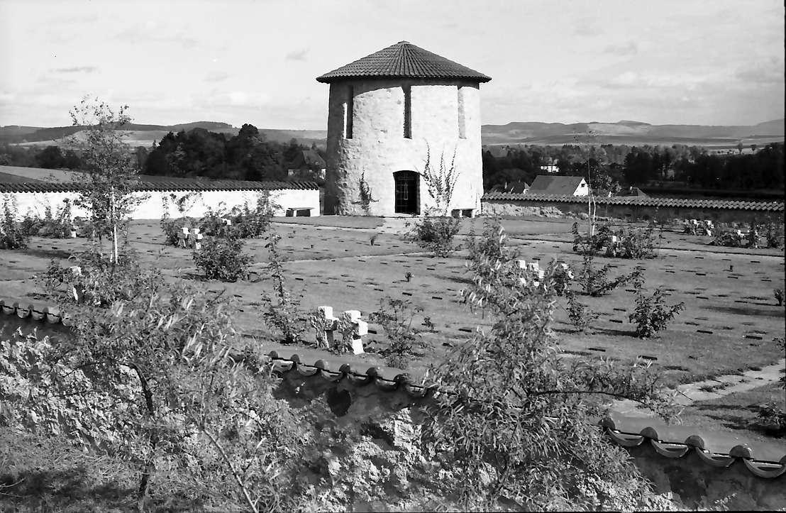 Donaueschingen: Heldenfriedhof in Allmendshofen bei Donaueschingen, näher, Bild 1