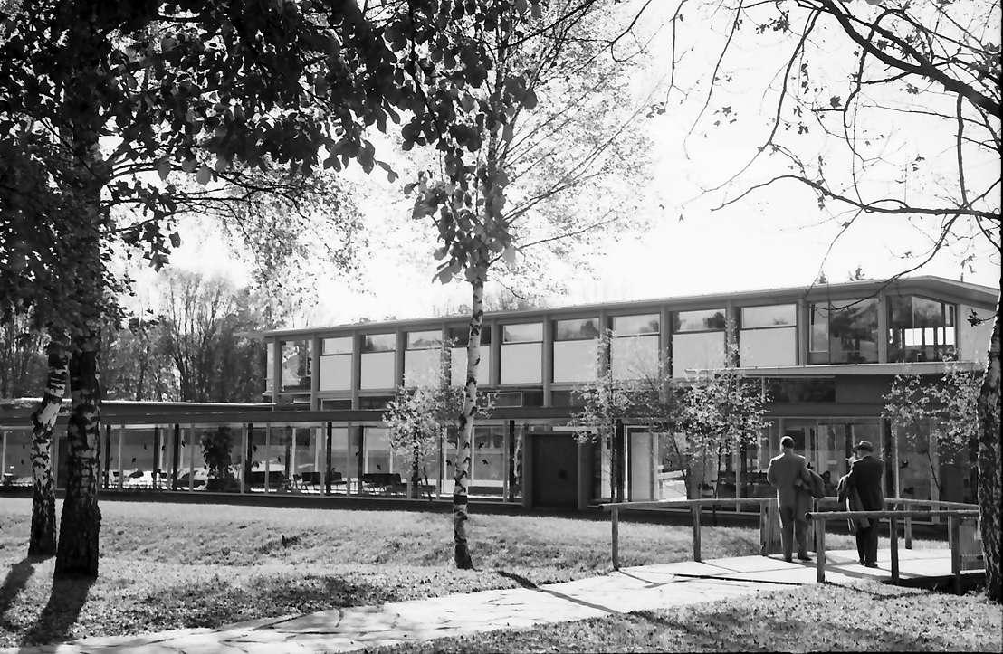 Bad Dürrheim: Neues Kulturmittelhaus von der Parkseite, Bild 1