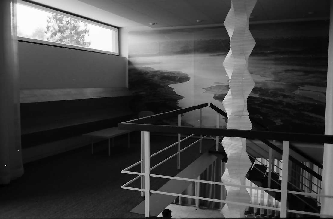 Bad Dürrheim: Neues Kurhaus, Großfoto vom Bodensee am Treppenaufgang, Bild 1