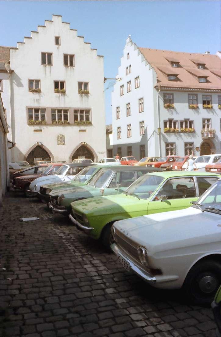 Villingen: Münsterplatz mit Rathaus-Museum, Bild 1