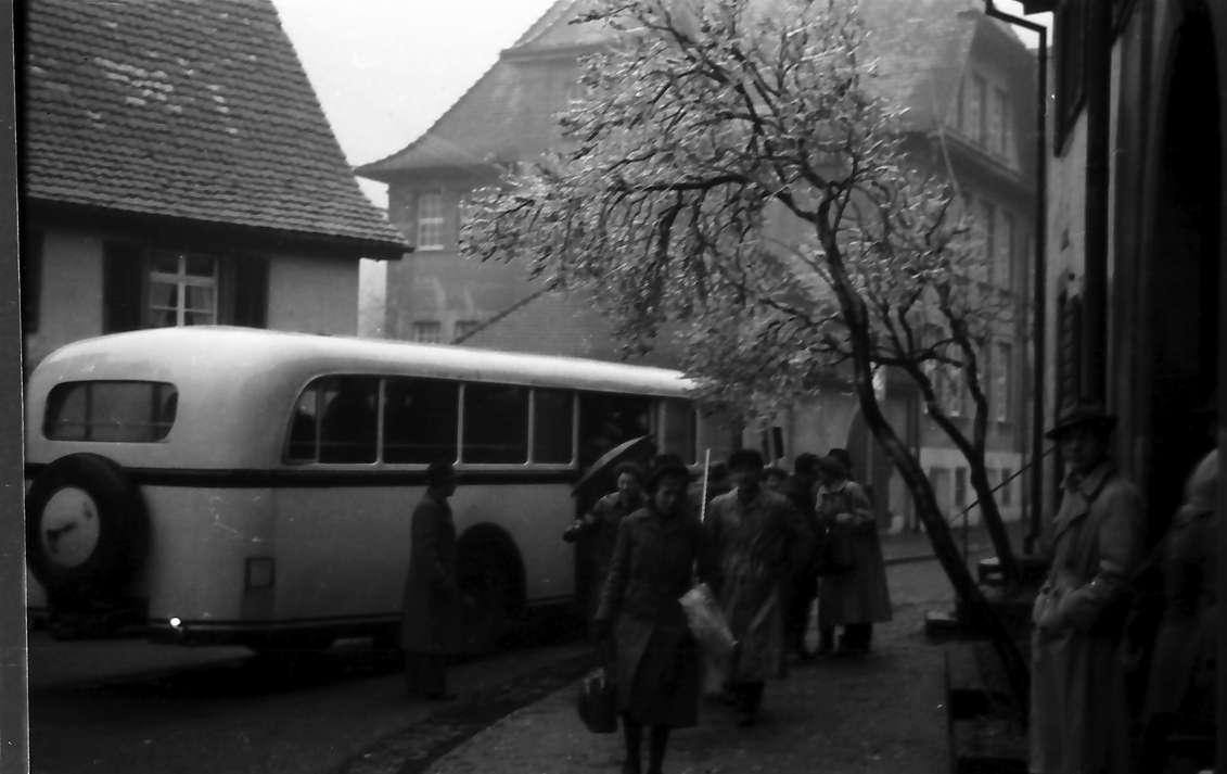 Freiburg, Günterstal: Autobusersatzverkehr nach Günterstal, Bild 1
