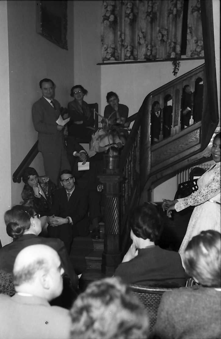 Freiburg, Littenweiler: Waldhof, Liederabend mit der Sopranistin Fanni L. Jones, Bild 1