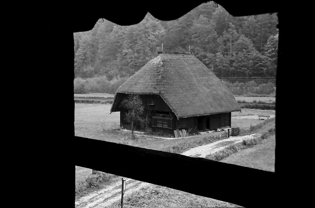 Gutach: Mühle von der Tenne des Vogtsbauernhofes, Bild 1