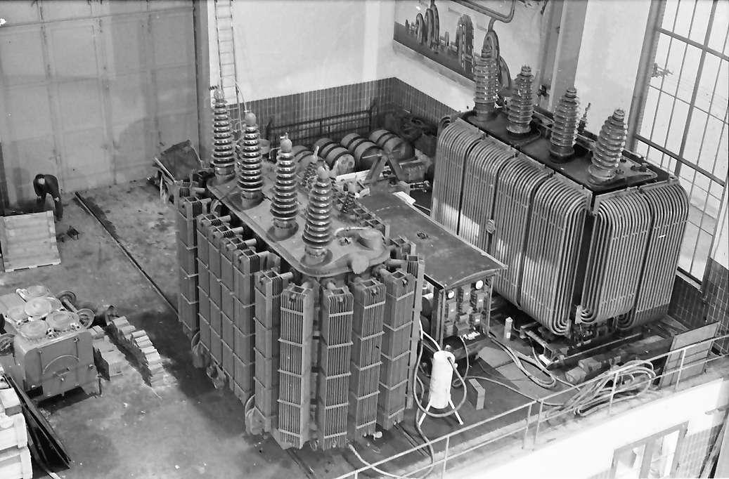 Waldshut: Kraftwerk; [...] von oben, Bild 1