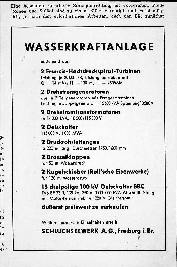 Waldshut: Kraftwerk; Inserat und Zusatztext, Bild 1