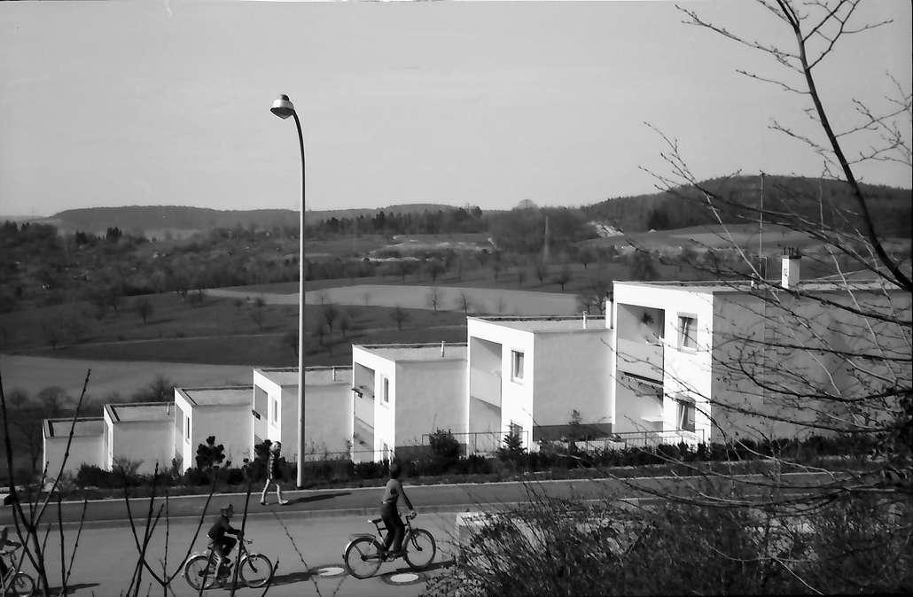 Lörrach, Salzert: Terrassen-Siedlungshäuser im Stadtteil Salzert, Bild 1