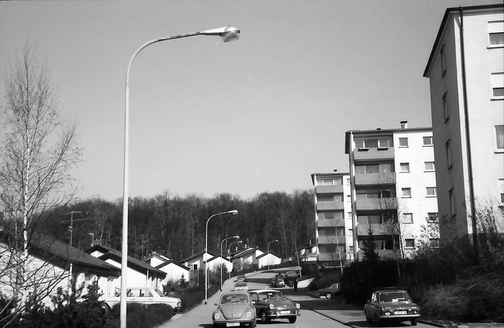 Lörrach, Salzert: Röttelnblick-Straße im Stadtteil Salzert, Bild 1