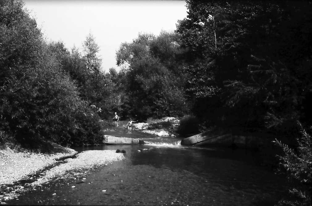 Eimeldingen: Kanderlauf vor der Mündung bei Eimeldingen, Bild 1