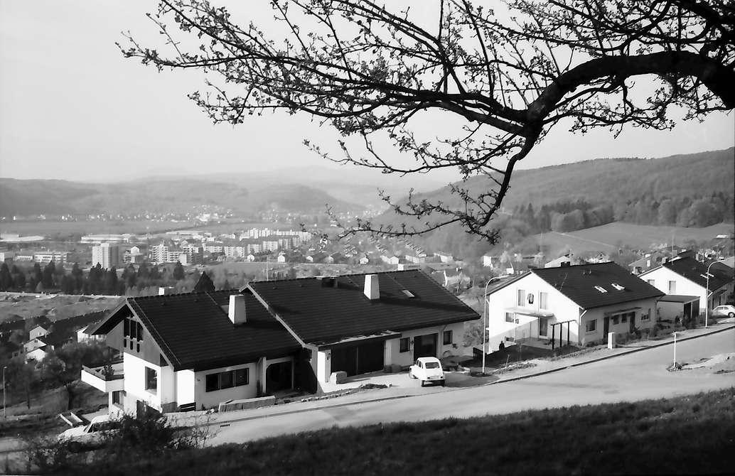 Lörrach, Tüllingen: Wohnhäuser, Bild 1
