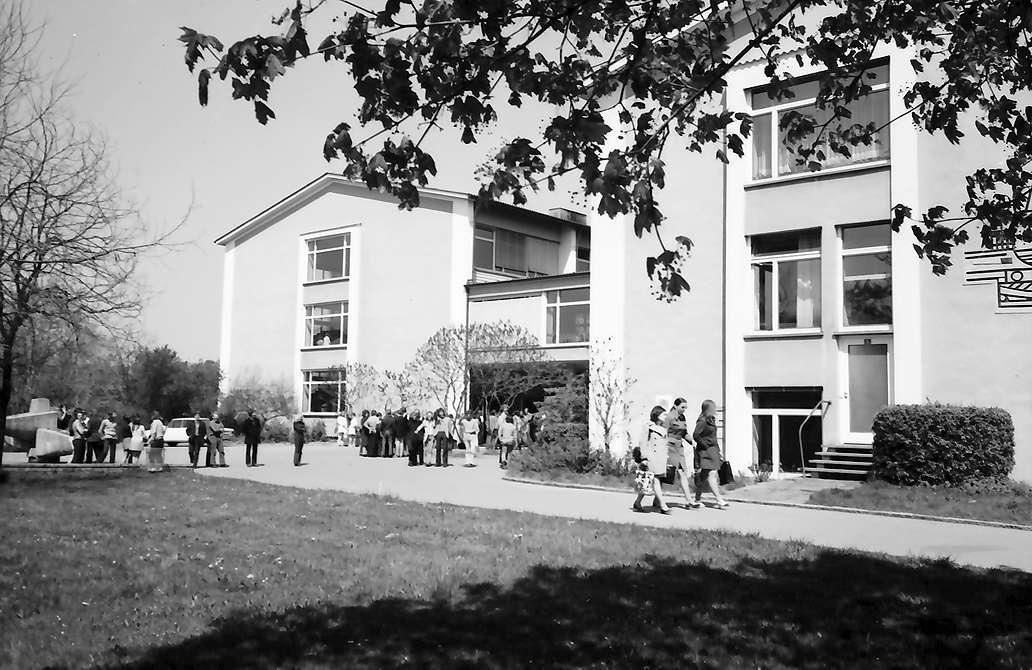 Lörrach, Tüllingen: Trakte der Handelsschule, Bild 1