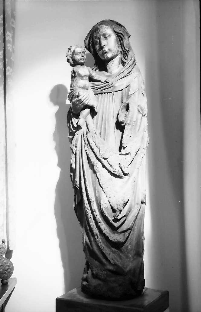 Lörrach: Museum; Dinkelberger Madonna, Adelhausen um 1500, Bild 1