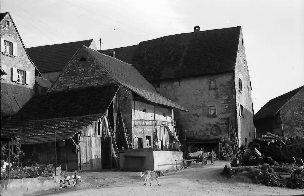 Rheinweiler: Häuser vor dem Abriss, Bild 1