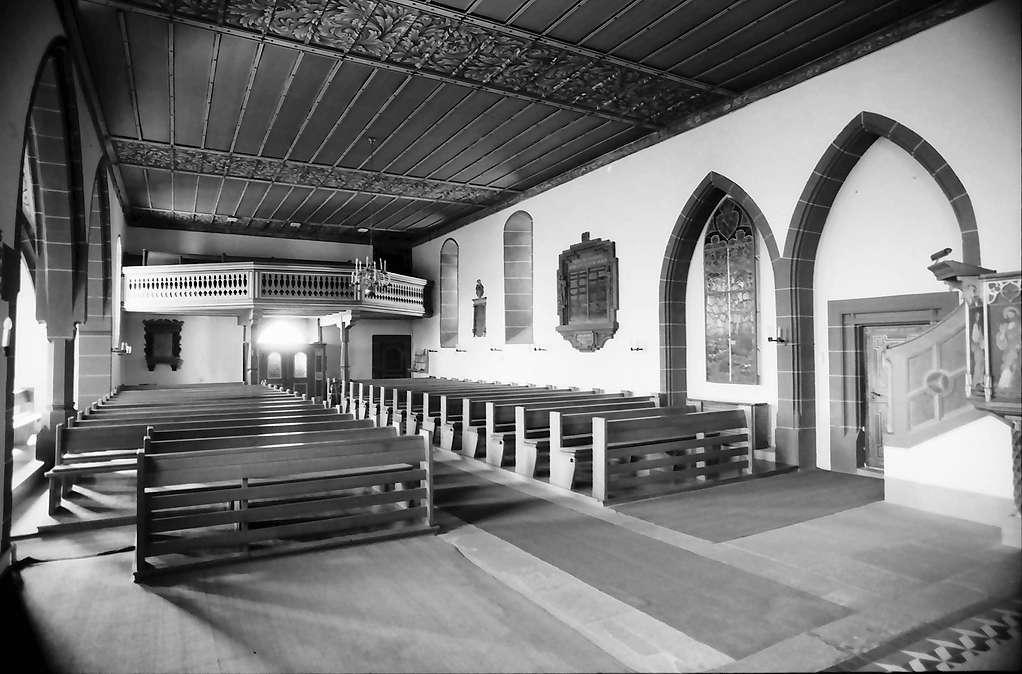 Rötteln: Inneres der Dorfkirche, Bild 1