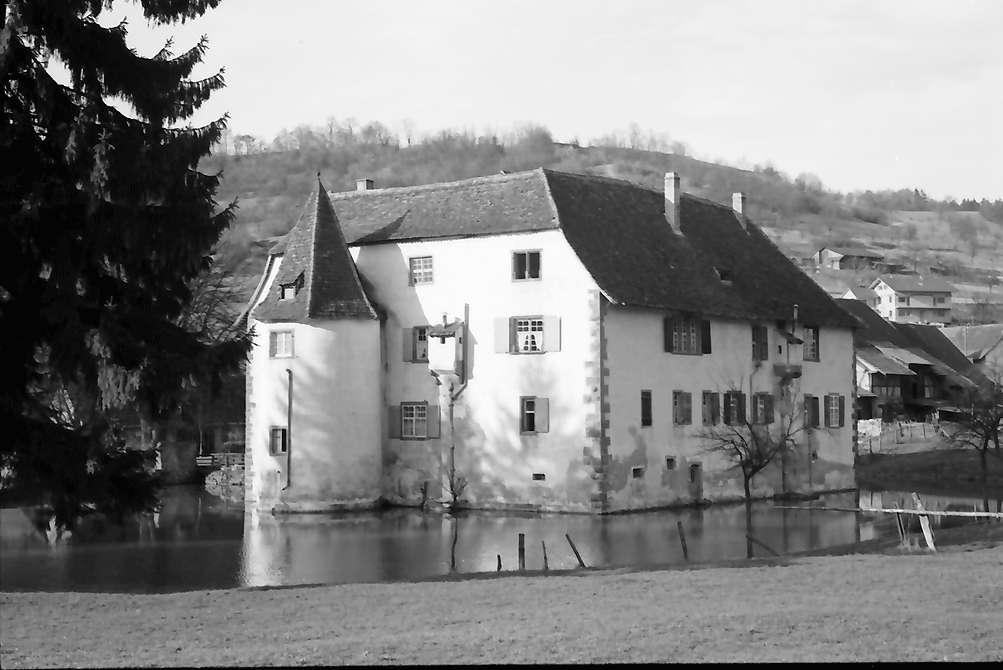 Inzlingen: Wasserschloss, Südostseite, Bild 1