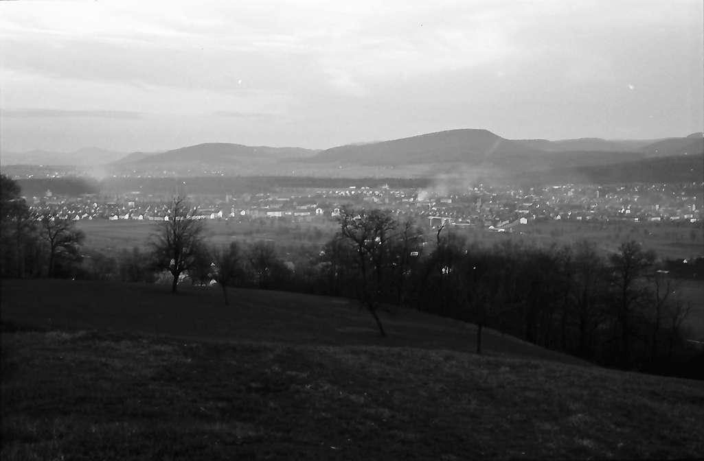 Nollingen: Blick auf Rheintal und Rheinfelden, Bild 1