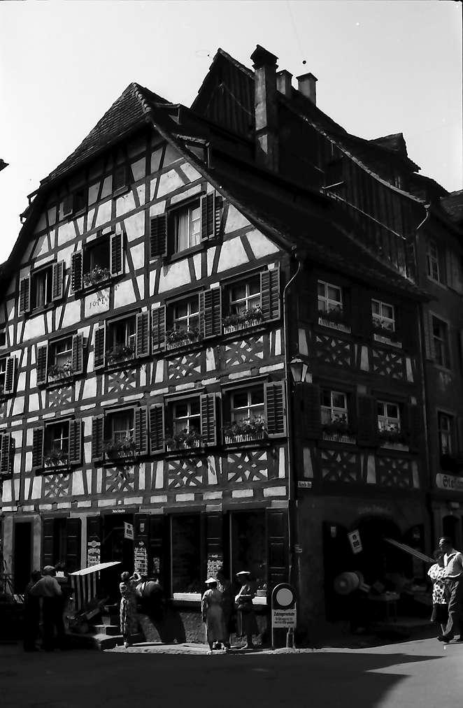 Meersburg: Fachwerkhaus, Bild 1