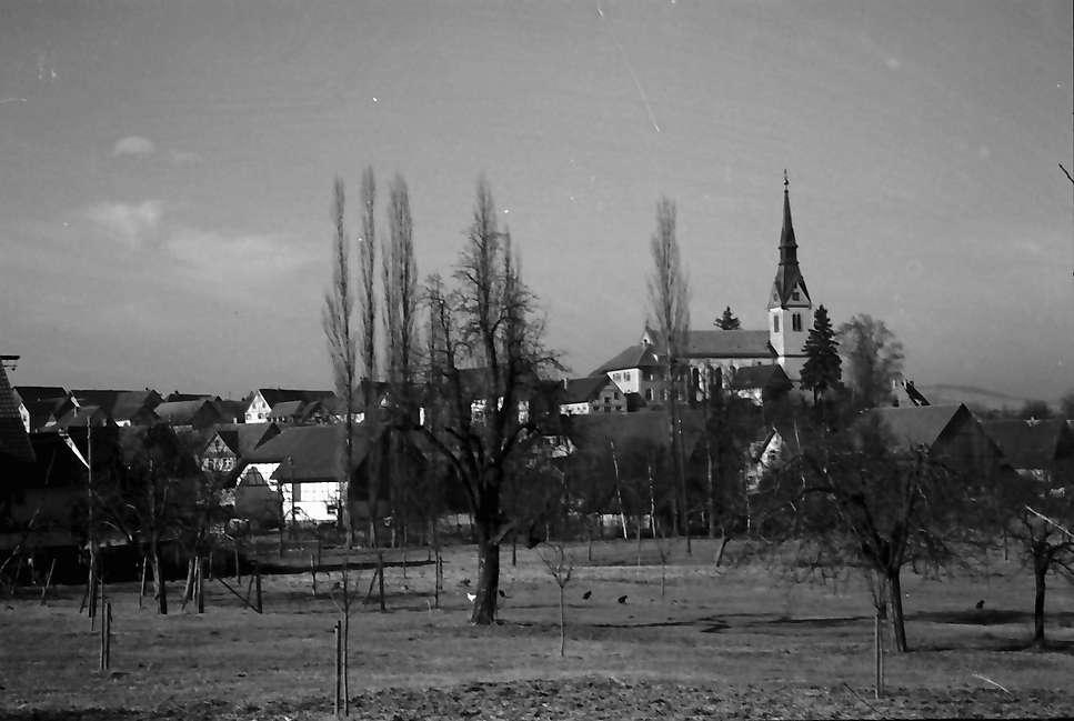 Wahlwies: Blick auf den Ort, Bild 1
