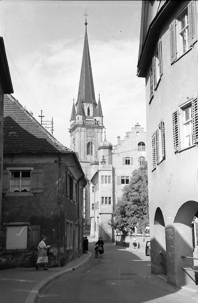 Radolfzell: Obertorstraße mit Münster, Bild 1