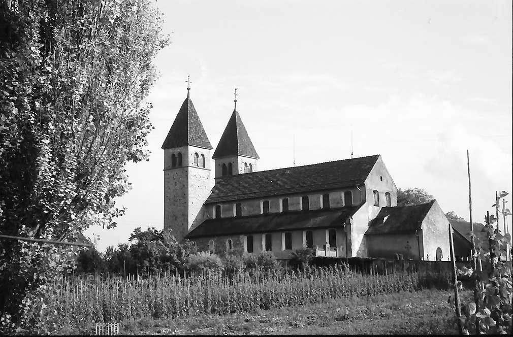 Unterzell: Kirche St. Peter und Paul, Niederzell, Bild 1