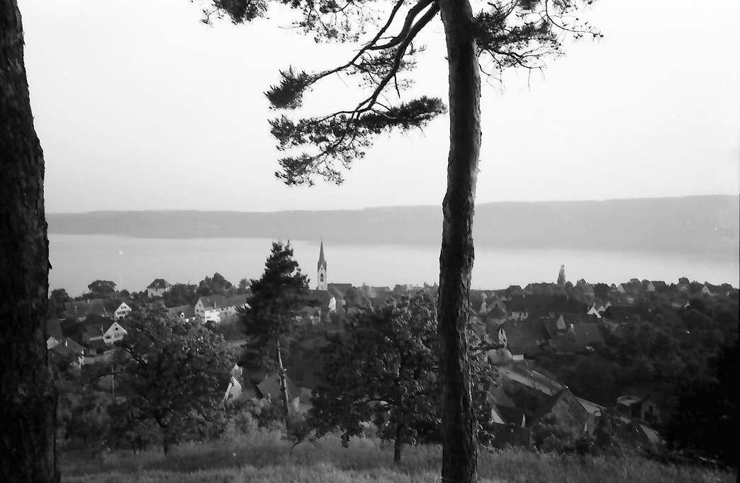 Sipplingen: Blick von der Höhe auf Ort und See, Bild 1
