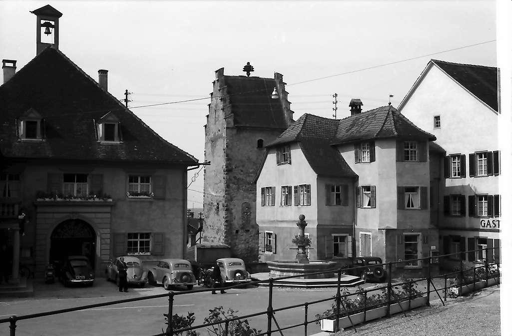 Markdorf: Rathaus und Hexenturm, Bild 1