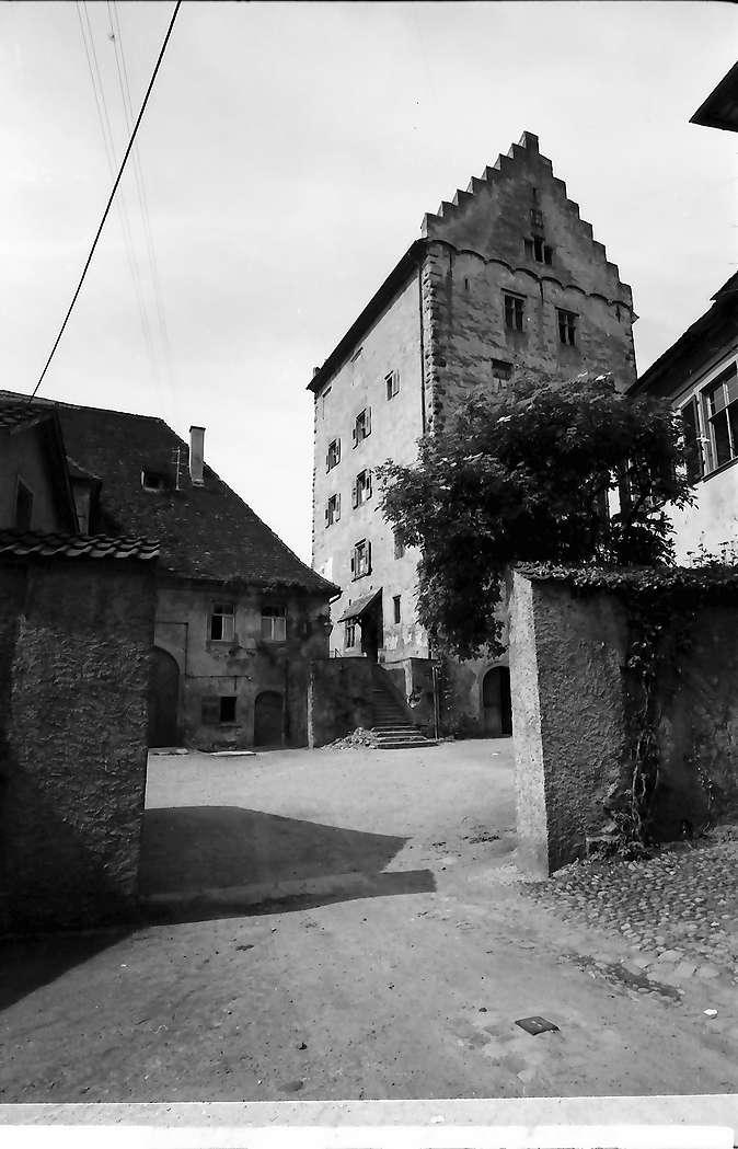 Markdorf: Schloss mit Hofeingang, Bild 1