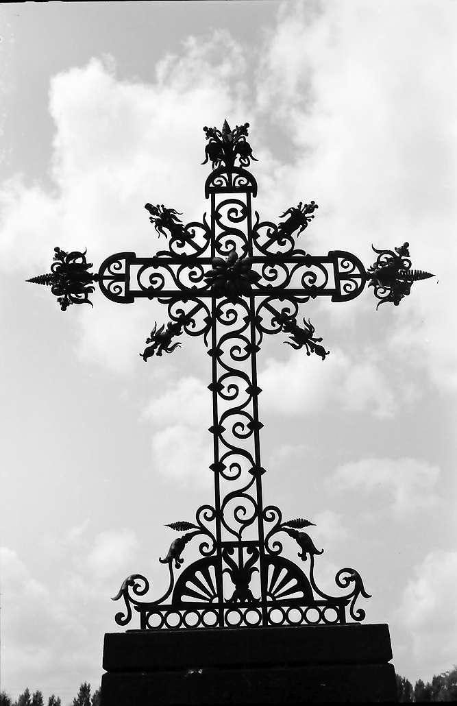 Insel Reichenau: Friedhofskreuz, Bild 1