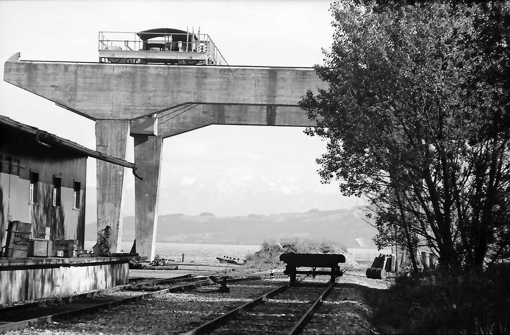 Kressbronn: Bodan Werft, Stapelbahn, Bild 1