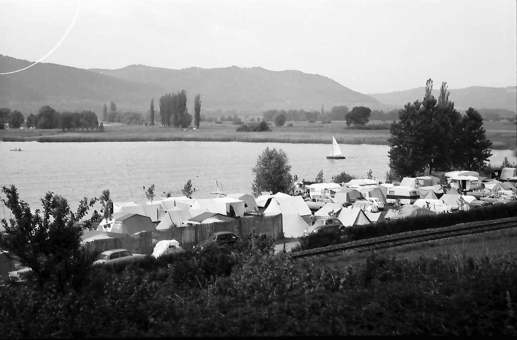 Ludwigshafen: Campingplatz am Bodensee bei Ludwigshafen, Bild 1