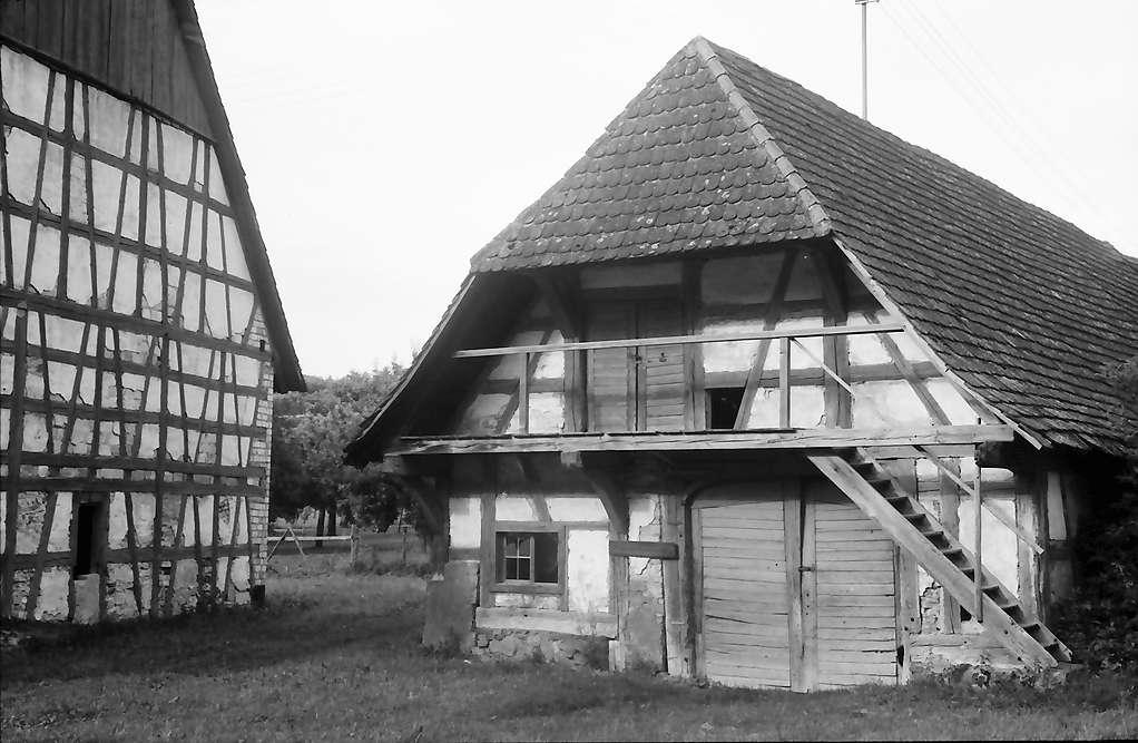 Weildorf: Alte Scheuer, Bild 1