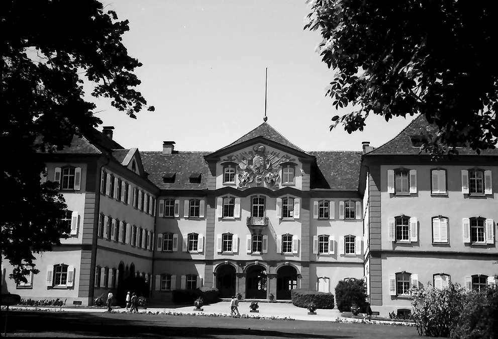 Mainau, Insel Mainau: Schloss Mainau, Parkseite, Bild 1