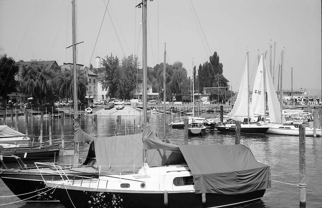Staad: Segelhafen, Bild 1