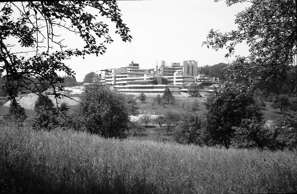 Konstanz: Universitätsneubau, Totalansicht von Allmannsdorf, Bild 1
