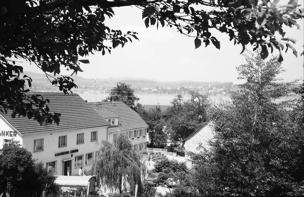 Dingelsdorf: Gasthaus am Berg, von oben, Bild 1
