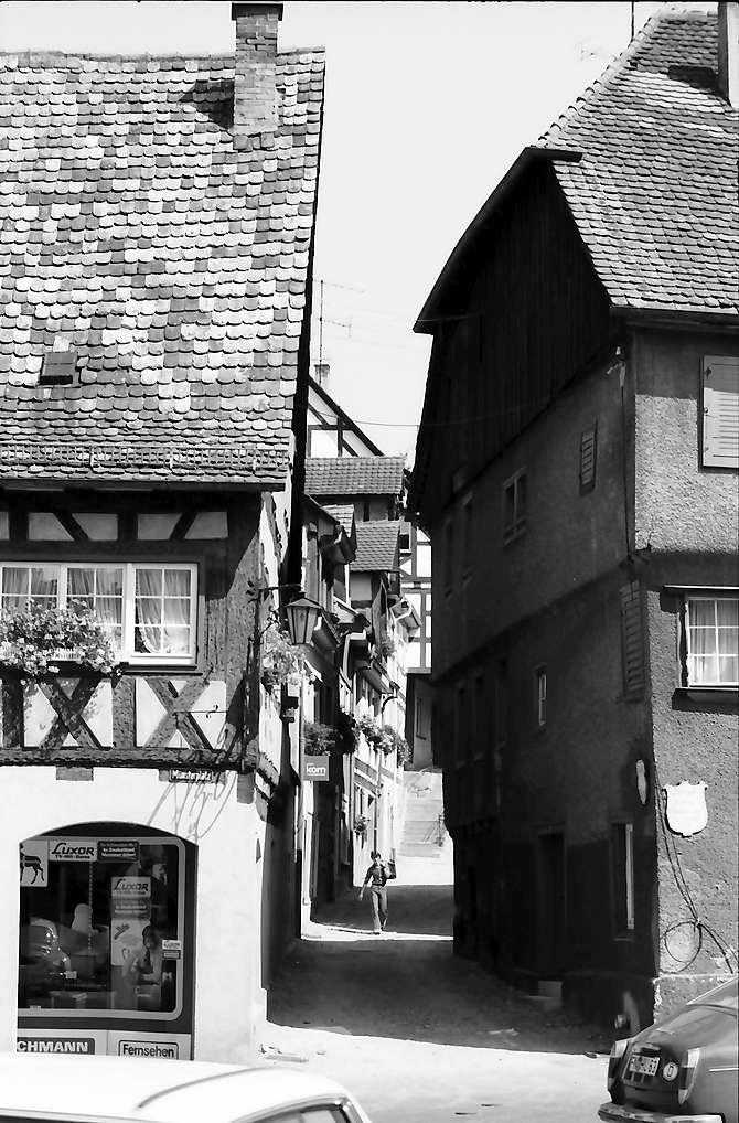 Überlingen: Altes Fachwerkhaus, Bild 1