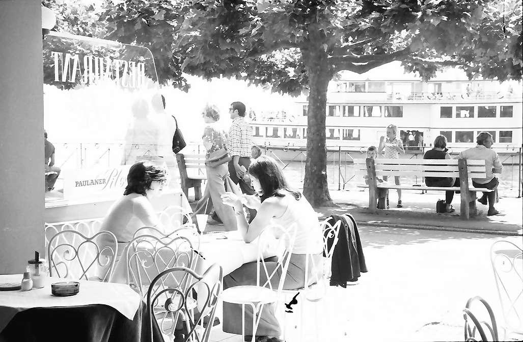 Meersburg: Seepromenade vom Restaurant See Pick aus, Bild 1