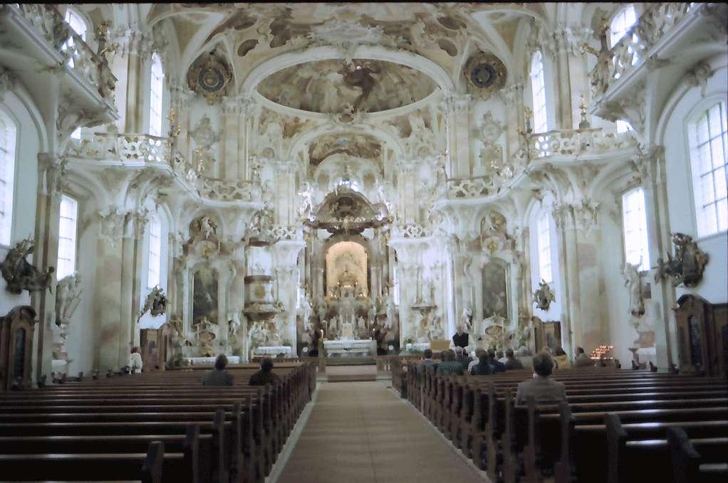 Birnau: Kirche Birnau, innen, Bild 1