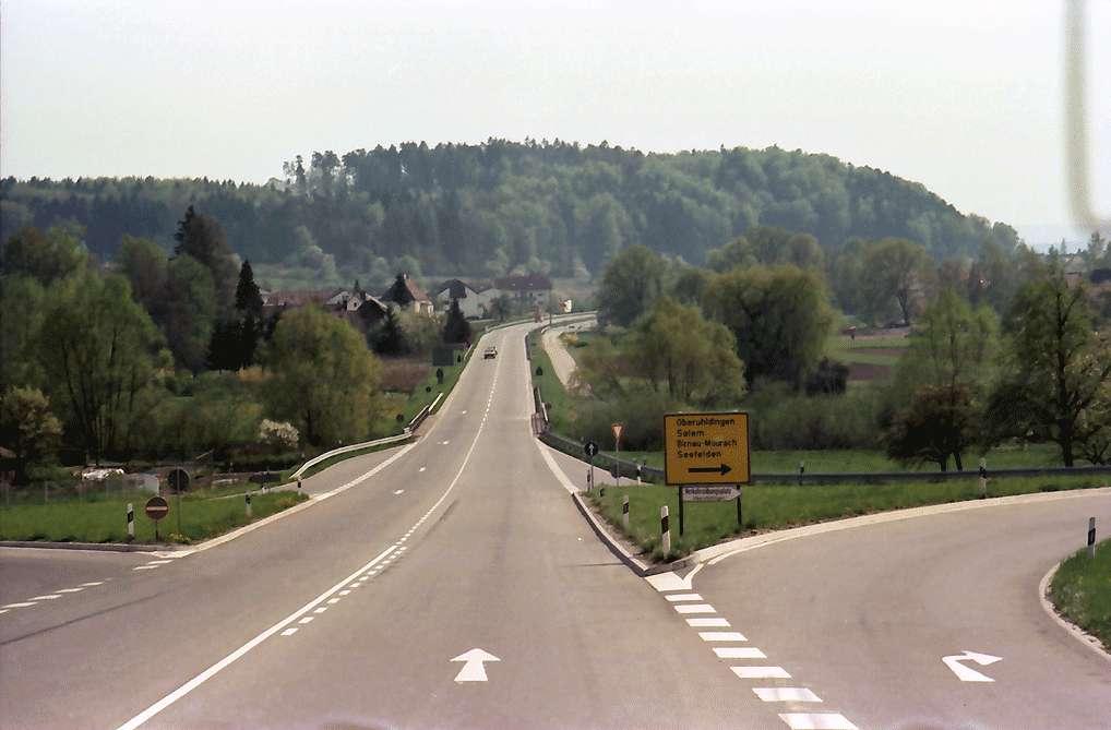 Birnau: B 31 zwischen Birnau und Uhldingen, Bild 1