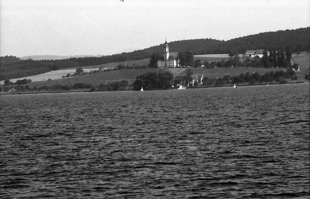 Meersburg: Birnau vom See her, Bild 1