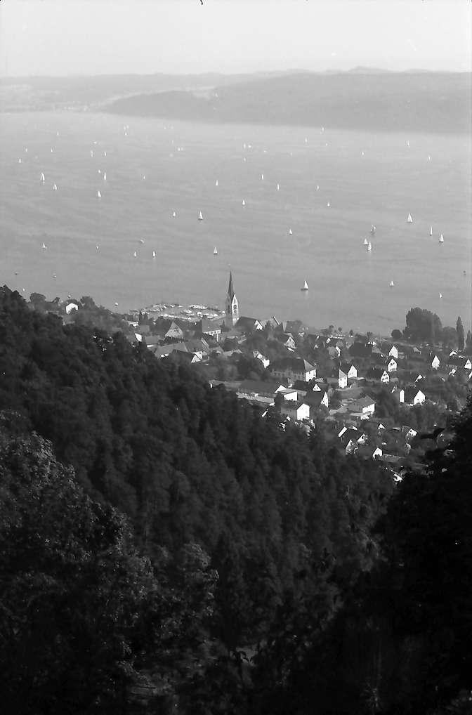 Halde: Blick von der Halde auf Sipplingen, Bild 1