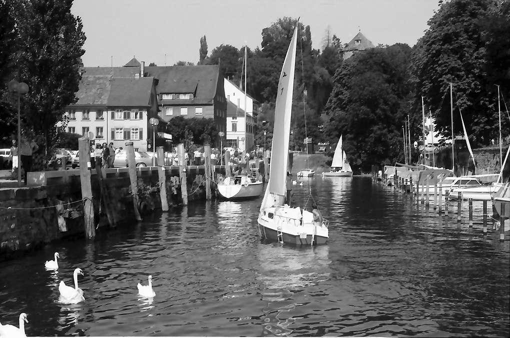 Überlingen: Segelhafen, Bild 1