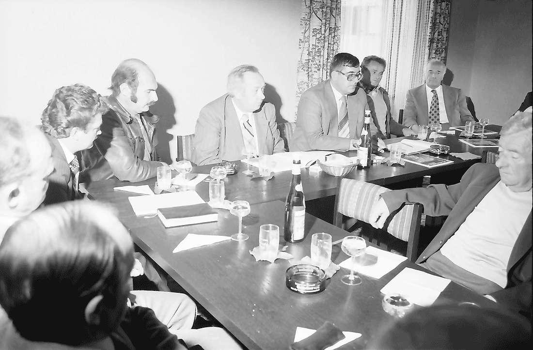 Kirchhofen: Pressekonferenz in der [Winzergenossenschaft], Bild 1