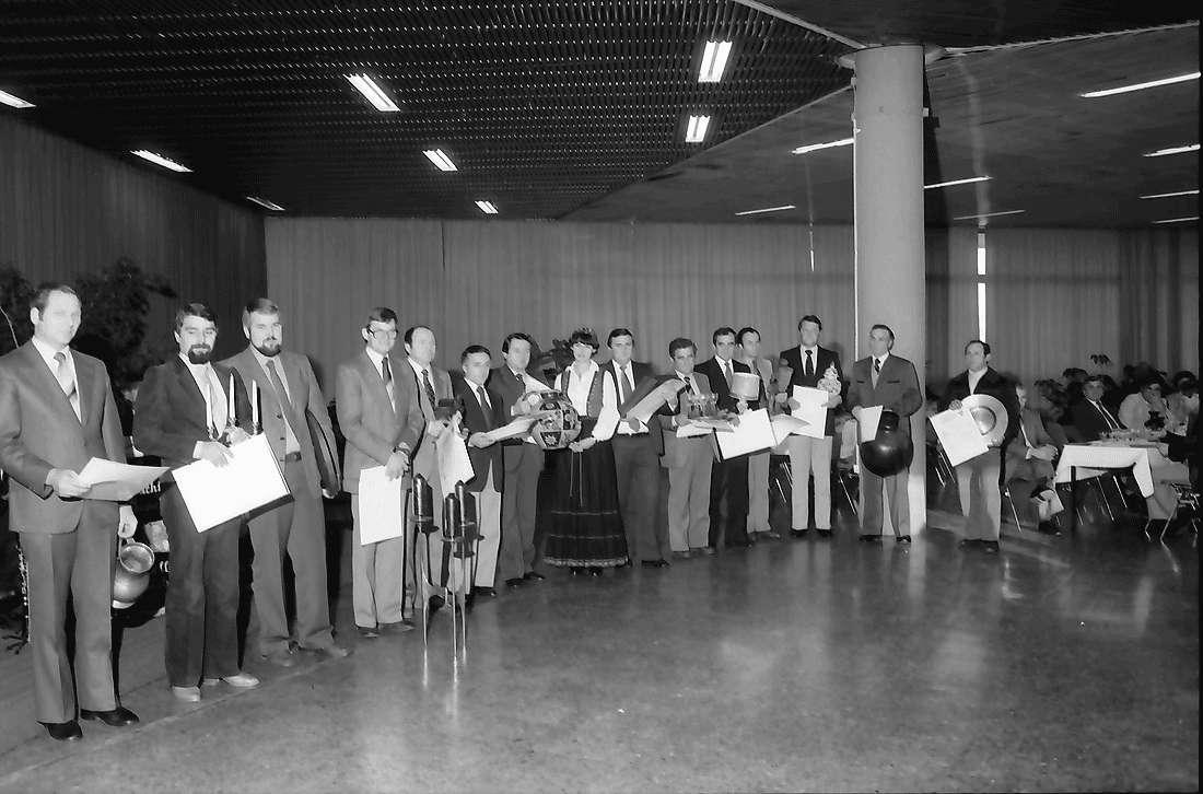 Offenburg: Oberrheinhalle; Gruppen aller Prämierten, Bild 1