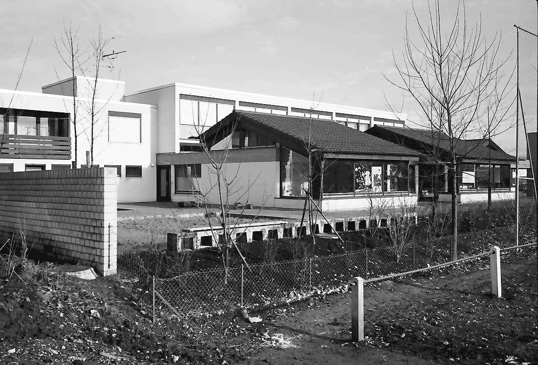 Hochdorf: Mooswaldhalle; Kindergarten von verschiedenen Seiten, Bild 1