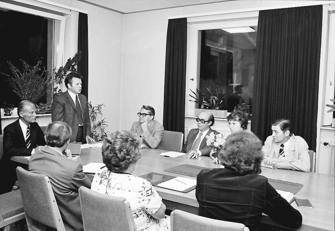 Kappel: Amtseinführung; Ortsvorsteher Groß; Verabschiedung von Bürgermeisterstellvertreter Wider, Bild 1