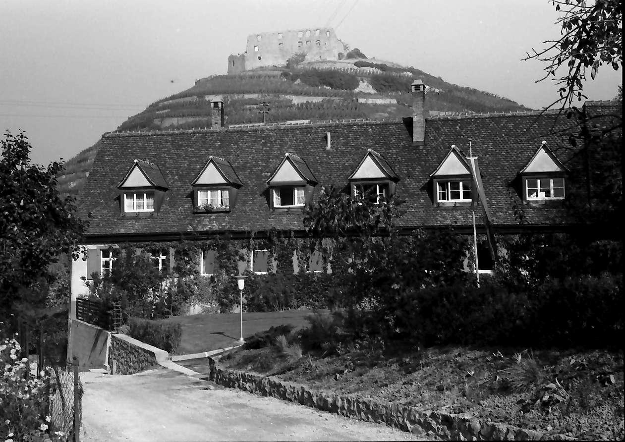 Staufen: Goethe-Institut; Außenansicht mit Burg, Bild 1