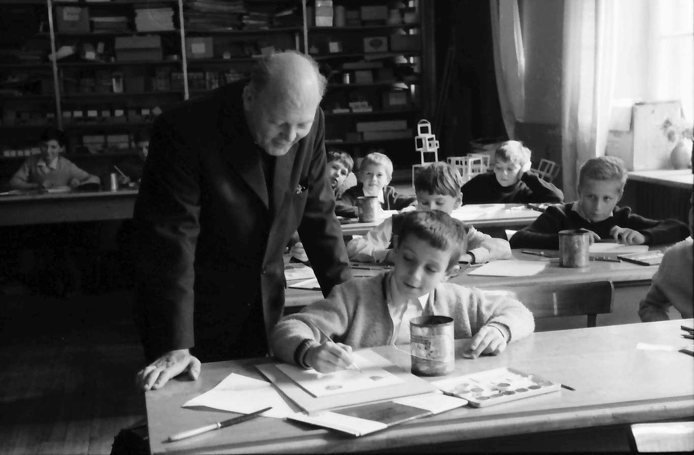 St. Blasien: Zeichenunterricht bei einem Pater, Bild 1