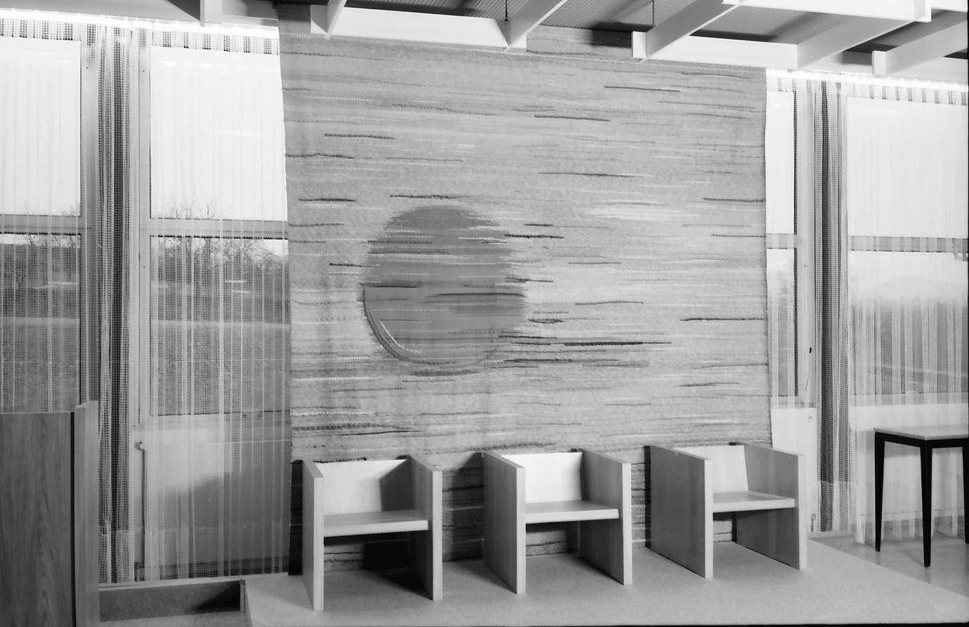 Ettenheim: Heimschule Ettenheim, Wandteppich im Saal von Gertrudis Huber, Bild 1
