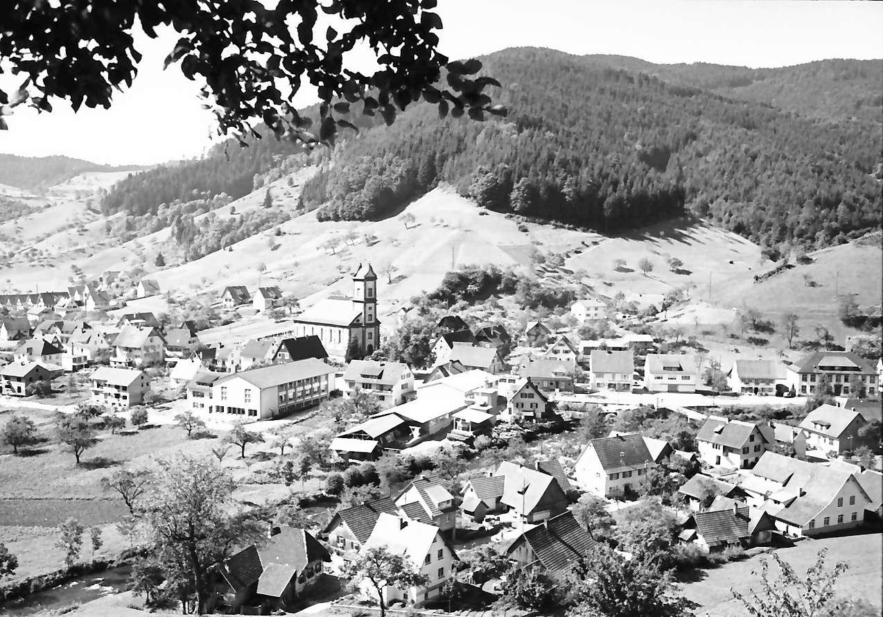 Oberwolfach: Gesamtansicht von Oberwolfach, Bild 1